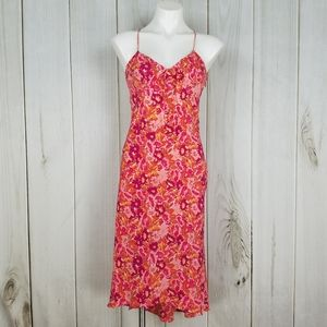 Vintage 90's Express Pink Floral Spaghetti Straps